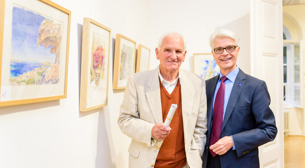 "Foto: Vernissage ""As time goes by"""